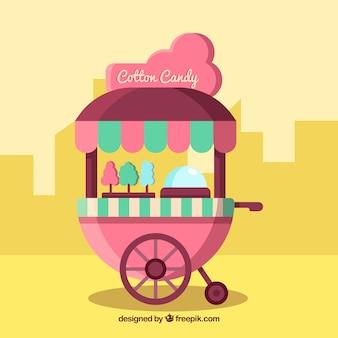 Modern katoen candy cart