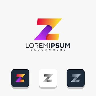 Modern letter z-logo-ontwerp