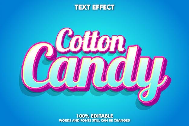 Modern lettertype-effect voor banner en sticker
