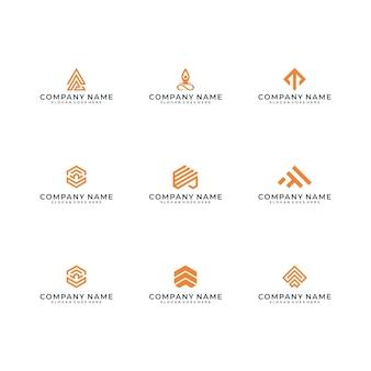 Modern logo-ontwerp