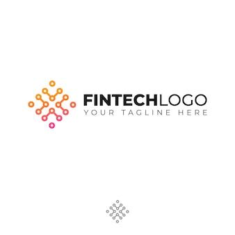 Modern logo voor financiën