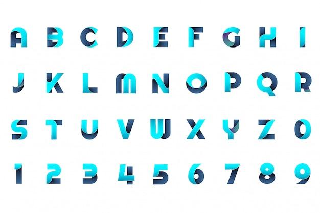Modern minimaal vectorembleem voor banner