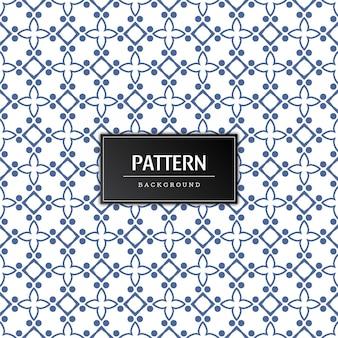Modern naadloos decoratief patroon