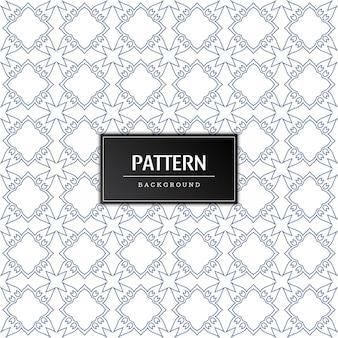 Modern naadloos patroon minimaal