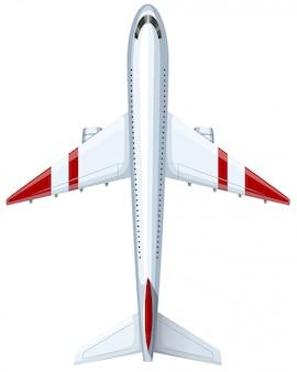 Modern ontwerp van vliegtuig