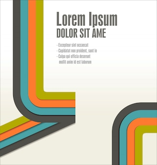 Modern ontwerpsjabloon