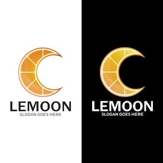 Modern oranje schip logo sjabloon illustratie ontwerp, vers drankje symbool -vector