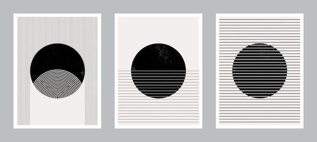 Modern poster art om af te drukken. abstracte kunst aan de muur. digitale interieurdecoratie art.