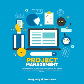 Modern projectmanagementconcept