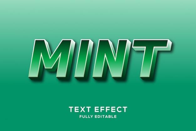 Modern sterk groen teksteffect