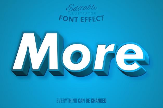 Modern sterk vet lettertype-effect