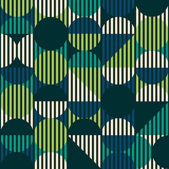 Modern stijl abstract geometrisch naadloos patroon.