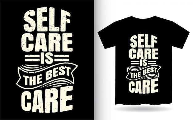 Modern t-shirt kledingontwerp met motiverende typografie