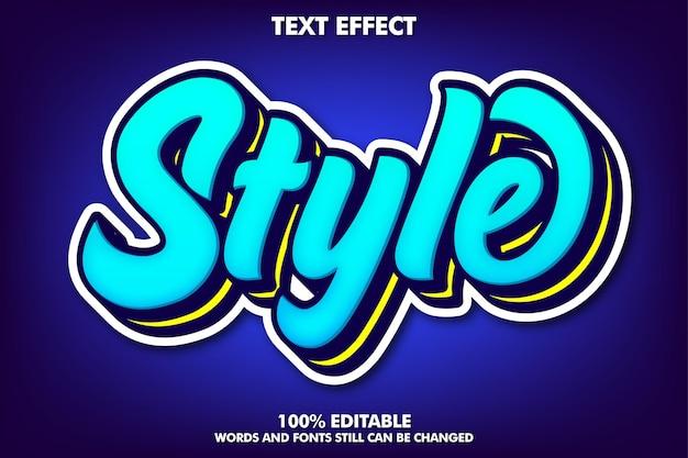 Modern teksteffect voor jeugdcultuur