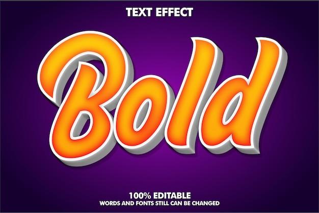 Modern teksteffect voor moderne cultuur 3d-typografiesjabloon