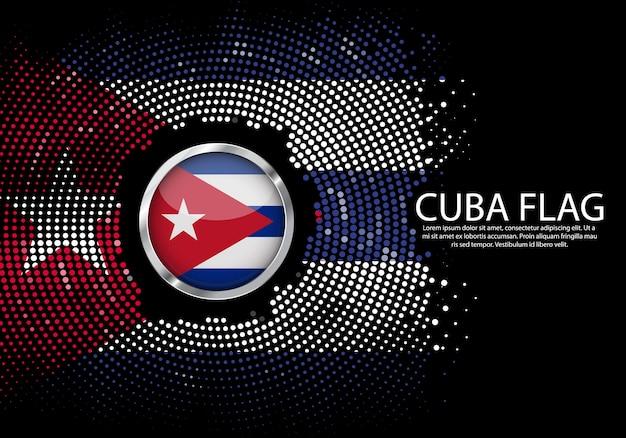 Modern van cuba-kaartverbindingen netwerkontwerp