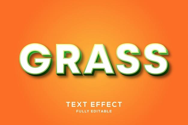 Modern vet minimalistisch teksteffect