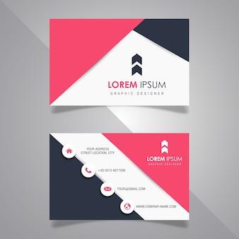 Modern visitekaartje ontwerpen