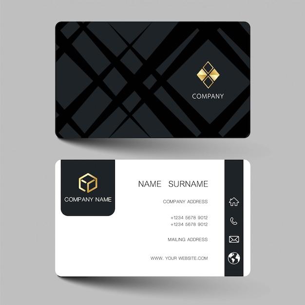 Modern visitekaartje