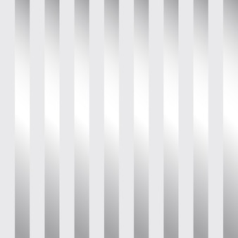 Modern zilver gestreept behangontwerp