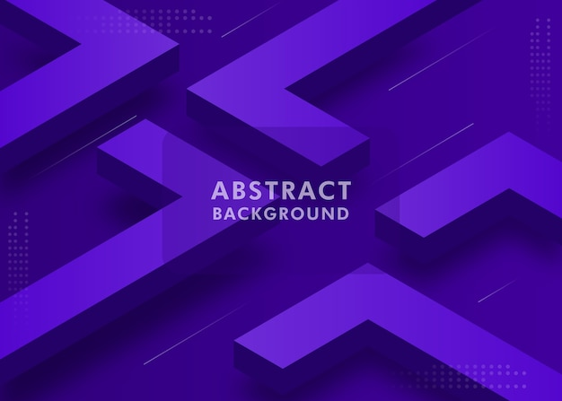 Moderne 3d abstracte achtergrond
