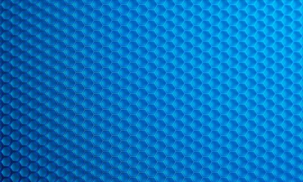 Moderne 3d zeshoek vector achtergrond.