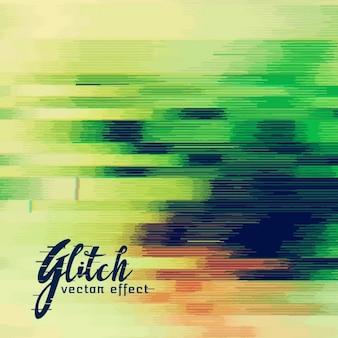 Moderne abstracte achtergrond, glitch effect