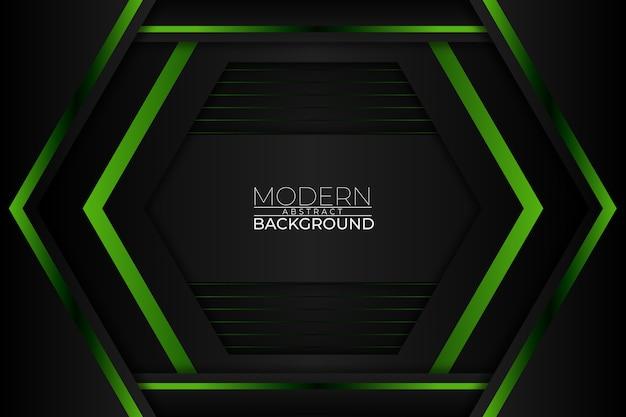 Moderne abstracte achtergrond groene stijl