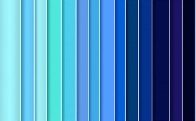 Moderne abstracte achtergrond met blauwe panelen
