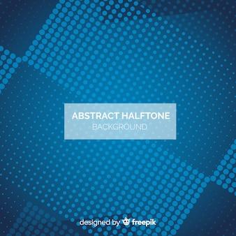 Moderne abstracte achtergrond met halftone stijl