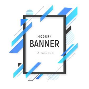 Moderne abstracte achtergrond met lijnen