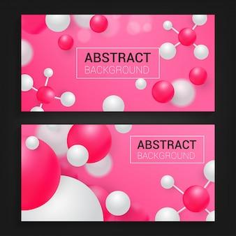 Moderne abstracte achtergrond met rode kleur