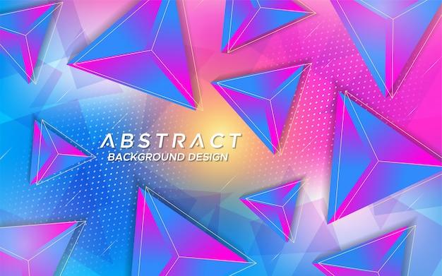 Moderne abstracte achtergrond met tech-stijl overlappingslaag.