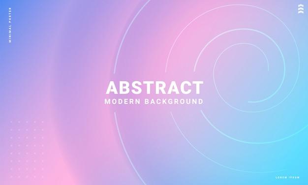 Moderne abstracte achtergrond met zachte kleursjablonen