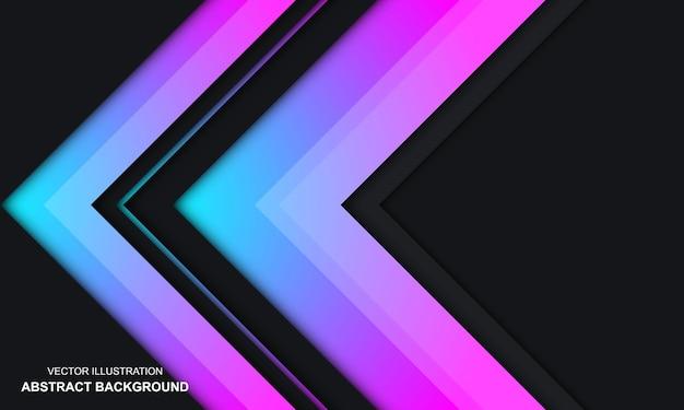 Moderne abstracte achtergrond zwarte dop en kleurrijk ontwerp