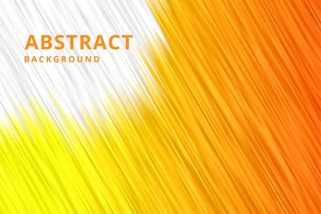 Moderne abstracte achtergrondbehangvector in geeloranje kleur