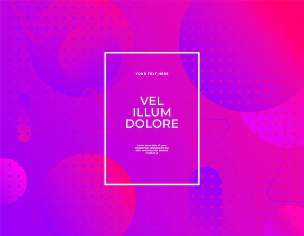Moderne abstracte achtergrondvorm ultraviolette kleuren