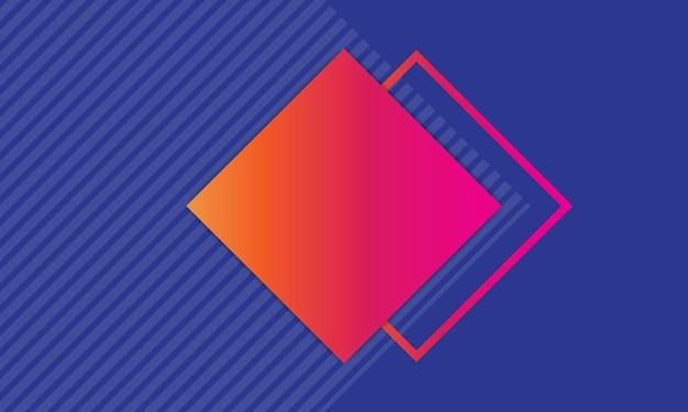 Moderne abstracte blauwe kleurrijke achtergrond