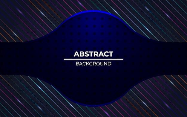 Moderne abstracte donkerblauwe achtergrond met rgb-lichteffect