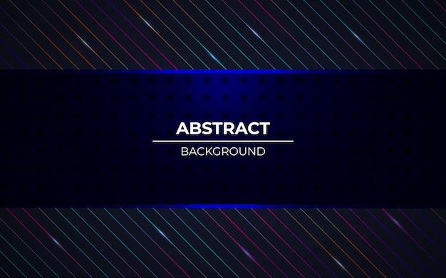 Moderne abstracte donkere achtergrond met rgb-lichteffect