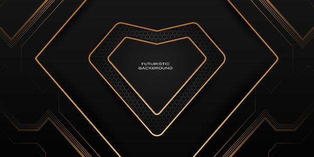 Moderne abstracte futuristische gaming-achtergrond