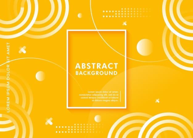 Moderne abstracte geometrische vormachtergrond