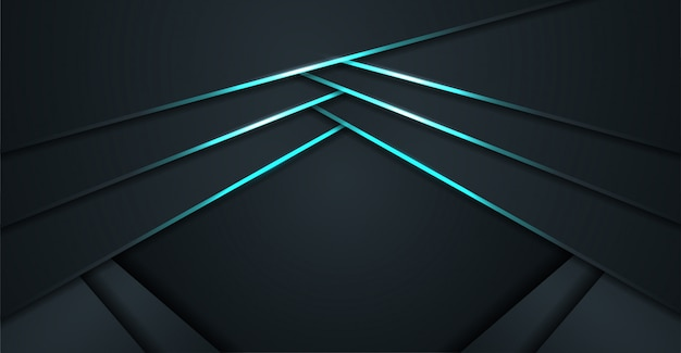 Moderne abstracte glanzende blauwe achtergrond