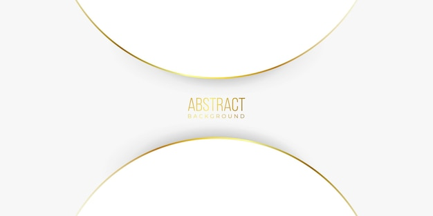 Moderne abstracte gouden lijnachtergrond