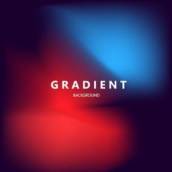 Moderne abstracte gradiënt roze en blauwe kleur als achtergrond