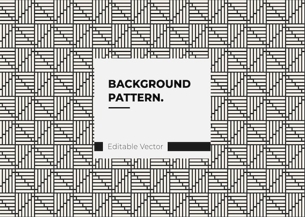 Moderne abstracte patroonlijn voor stoffenpapiermode