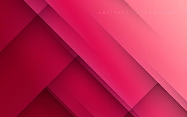 Moderne abstracte roze diagonale papercut als achtergrond