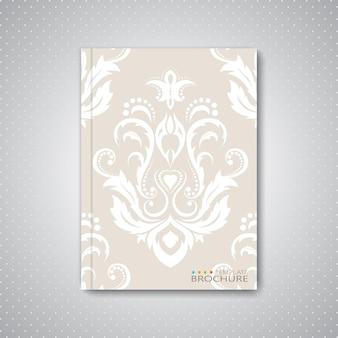 Moderne abstracte sjabloonlay-out voor brochure, tijdschrift, flyer, boekje, omslag of rapport
