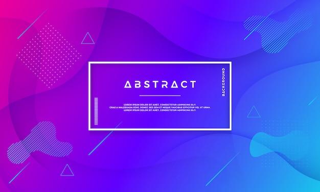 Moderne abstracte vloeibare vectorachtergrond.