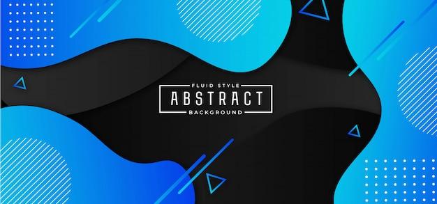 Moderne abstracte vloeistof achtergrond